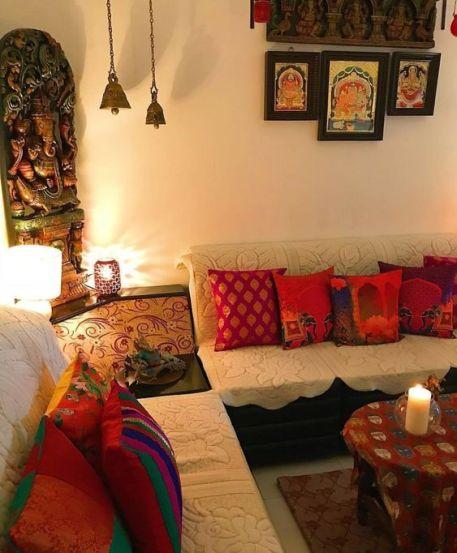 bright cushions home decor