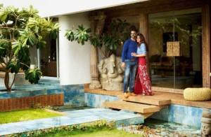 Celebrity home - Akshay Kumar and Twinkle Khanna