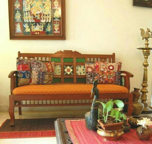 Give an Antique Look to your Living Room with Antique Wooden Furniture