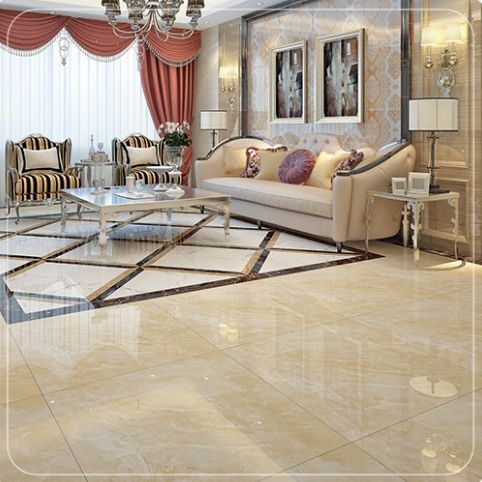 Tiles on the floor