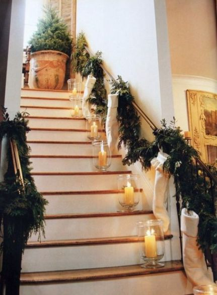 christmas-stairs-decoration-with-candles