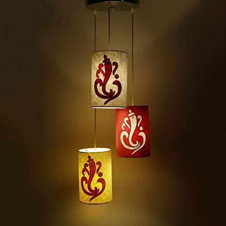Ganesh lantern decor