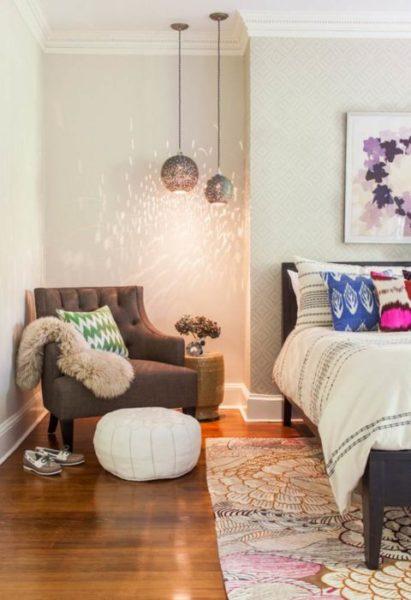 Corner Lamps in the Bedroom