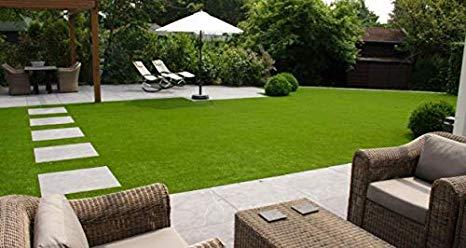Artificial grass garden decor