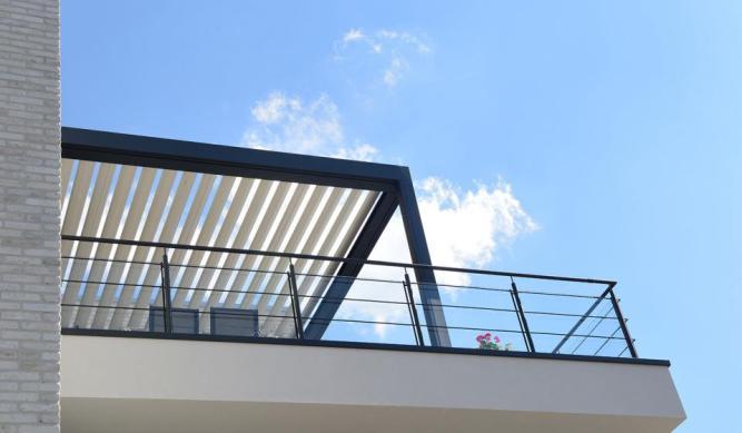 Pergola at the terrace