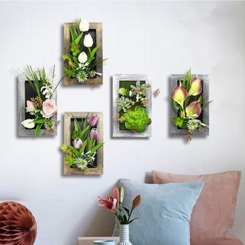 Plants-wall-decor