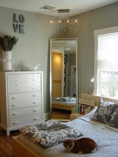 Mirror Corner in the Bedroom