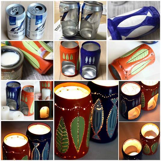 Flickering-Candle-Holders-from-Beer-Cans