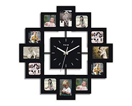 photoframe wall clock