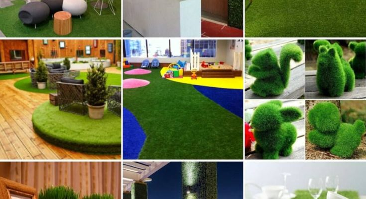 How to Use Artificial Grass for your Home, Garden and Patio Decor?